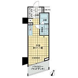 セルフィスタ渋谷[2階]の間取り