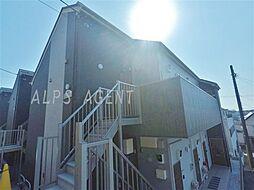 神奈川県横浜市港北区仲手原1丁目の賃貸アパートの外観