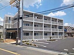 神奈川県藤沢市菖蒲沢の賃貸マンションの外観