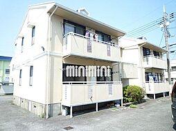 岩崎ハイツB[1階]の外観
