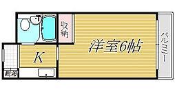 ダイホープラザ幡ヶ谷[5階]の間取り