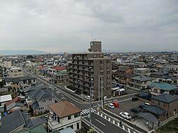 愛知県稲沢市西町2丁目の賃貸マンションの外観