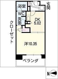 KDXレジデンス東桜II[3階]の間取り