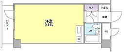 東京都国分寺市本町1丁目の賃貸マンションの間取り