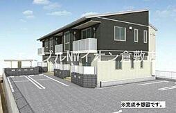 井原鉄道 川辺宿駅 徒歩15分の賃貸アパート