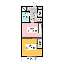 プレミールAOI[2階]の間取り