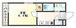 東垂水新築物件(仮)[2階]の間取り