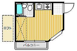 稔台ヒルズ[1階]の間取り