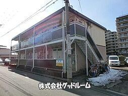 東京都町田市原町田1丁目の賃貸アパートの外観