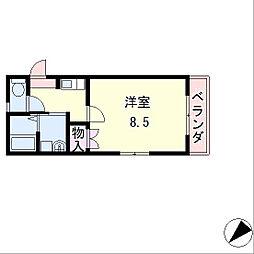 ファラン守山[1階]の間取り