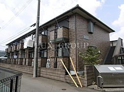 東京都小金井市東町5丁目の賃貸アパートの外観