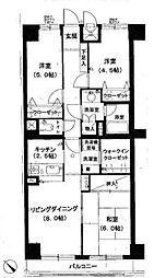 ライオンズマンション百合ヶ丘[3階]の間取り