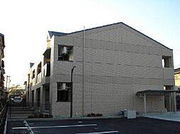 愛知県一宮市小信中島字萱場の賃貸アパートの外観