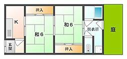 [テラスハウス] 大阪府守口市大久保町5丁目 の賃貸【/】の間取り