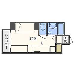 e−ハウス[207号室]の間取り