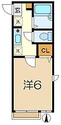 パークヒル[1階]の間取り