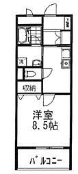 TNマンションV[3階]の間取り