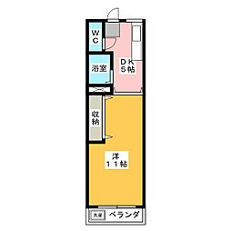 モリタビル[3階]の間取り