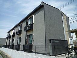 岡山県倉敷市徳芳の賃貸アパートの外観