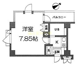 コパーズアプト鶴ヶ峰[1階]の間取り