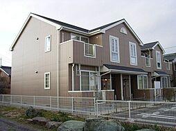 愛知県西尾市下矢田町円入庵の賃貸アパートの外観
