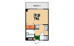 BSマンションII[407号室]の間取り