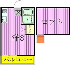 ロフティドリームNO.2[2階]の間取り