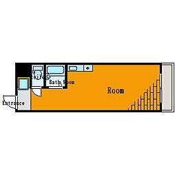 ヴェラハイツ大島[4階]の間取り