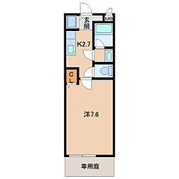 フロレスタ セゾン[1階]の間取り