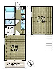 Hale Laki[3階]の間取り