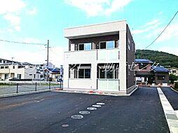 岡山県岡山市北区法界院の賃貸アパートの外観