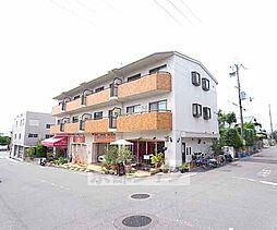 京都府八幡市男山長沢の賃貸マンションの外観