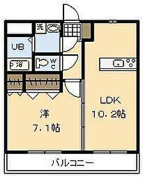 (仮称)吉村町中無田マンション[4階]の間取り