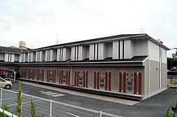 福岡県飯塚市相田の賃貸アパートの外観