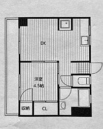 橋本ビル[3階]の間取り