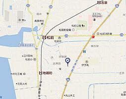 愛媛県伊予郡松前町大字北黒田の賃貸アパートの外観