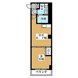 プリモフィオーレ室町[5階]の間取り