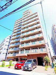 東京都東久留米市新川町1丁目の賃貸マンションの外観