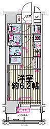 ララプレイス大阪城公園ヴェルテ[6階]の間取り
