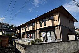 群馬県高崎市片岡町3丁目の賃貸アパートの外観