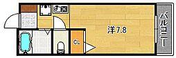 アビタシオンF[1階]の間取り