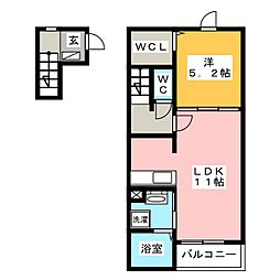 コクテール[2階]の間取り