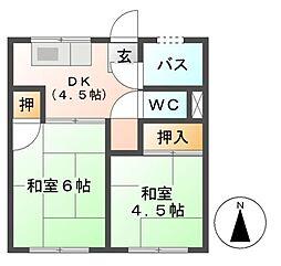 第二川島ビル[5階]の間取り
