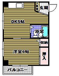 タツミハイツ[2階]の間取り