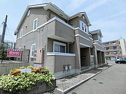 大阪府羽曳野市野々上3丁目の賃貸アパートの外観