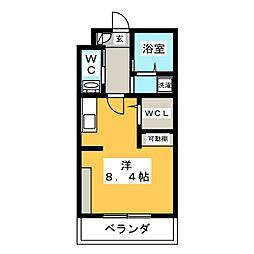 サイレント24[2階]の間取り
