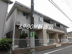 東京都杉並区上井草1丁目の賃貸アパートの外観