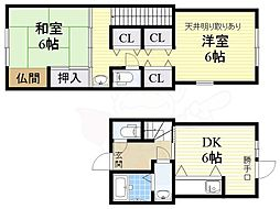 長居駅 6.5万円