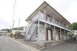 岡山県岡山市北区伊島町3の賃貸アパートの外観