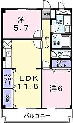 ベイビレッジINOUE[1階]の間取り